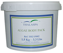 Thalaspa Algae Body Pack Slimming and Firming, 1,5 кг. Альго-обертывание.