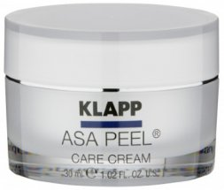 Klapp ASA Peel Care Cream. Крем ночной с AHA кислотами, 30 мл.