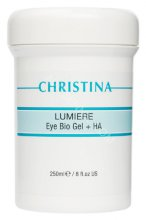 Christina Gels And Serum Eye & Neck Bio Gel, 250 мл. Гель Лумирэ с гиалуроновой кислотой для век.