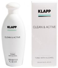 Klapp Tonic With Alcohol