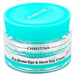 Christina Unstress Pro-Biotic Eye & Neck Day Cream
